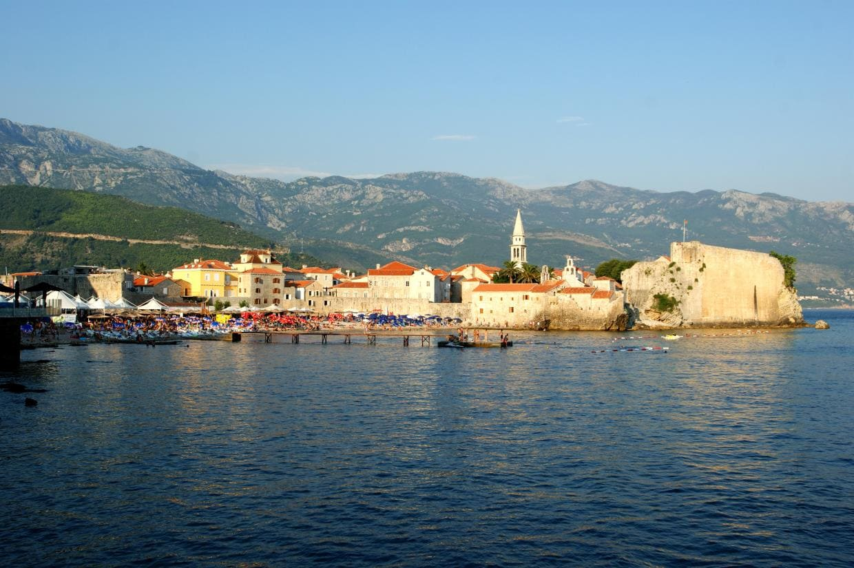 Budva, Montenegro - the tourist capital
