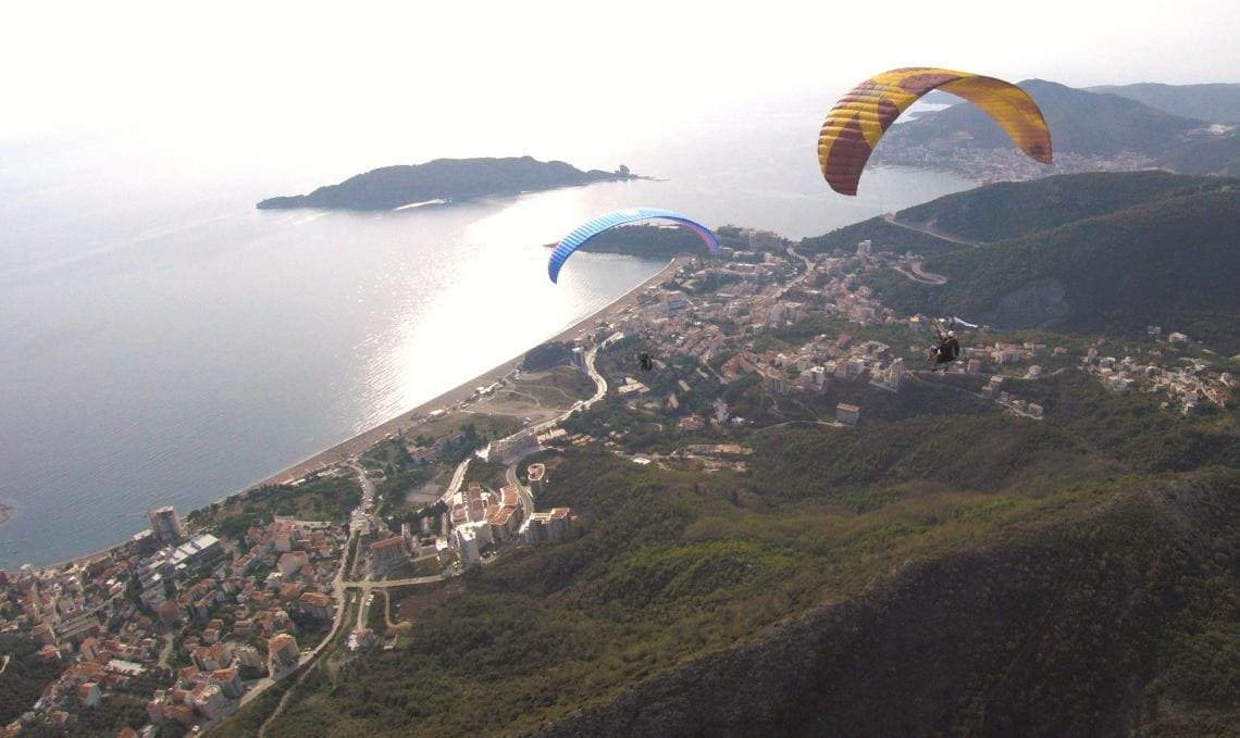 Paragliding Montenegro - A beautiful bird's eye view