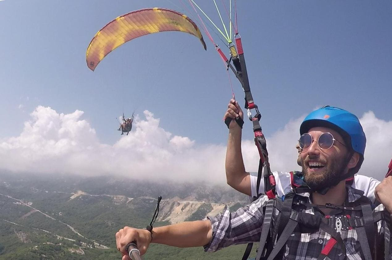 Budva Paragliding - An Incredible Adventure