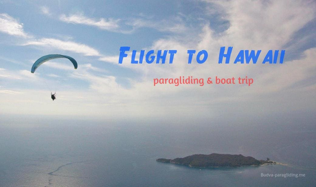 Unique flying adventure in Budva Montenegro