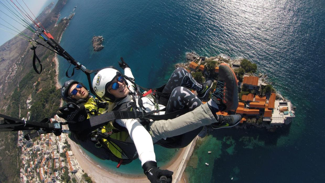 Review about Paragliding Montenegro